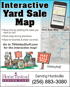 Interactive Yard Sale Map